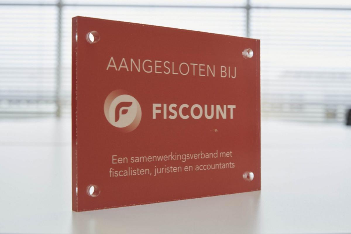7 jaar aangesloten bij Fiscount!