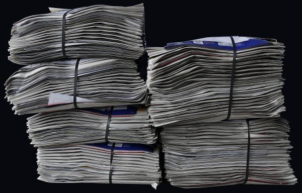 Krantenbezorger niet in loondienst